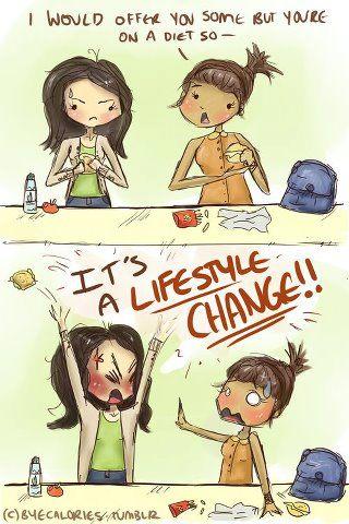 Permanent je voeding aanpassen