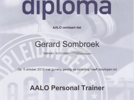 Personal Trainer Diploma AALO