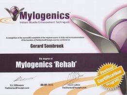 Mylogenics-Rehab diploma